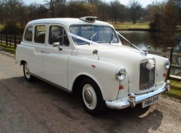 White London Taxi for weddings in Basingstoke